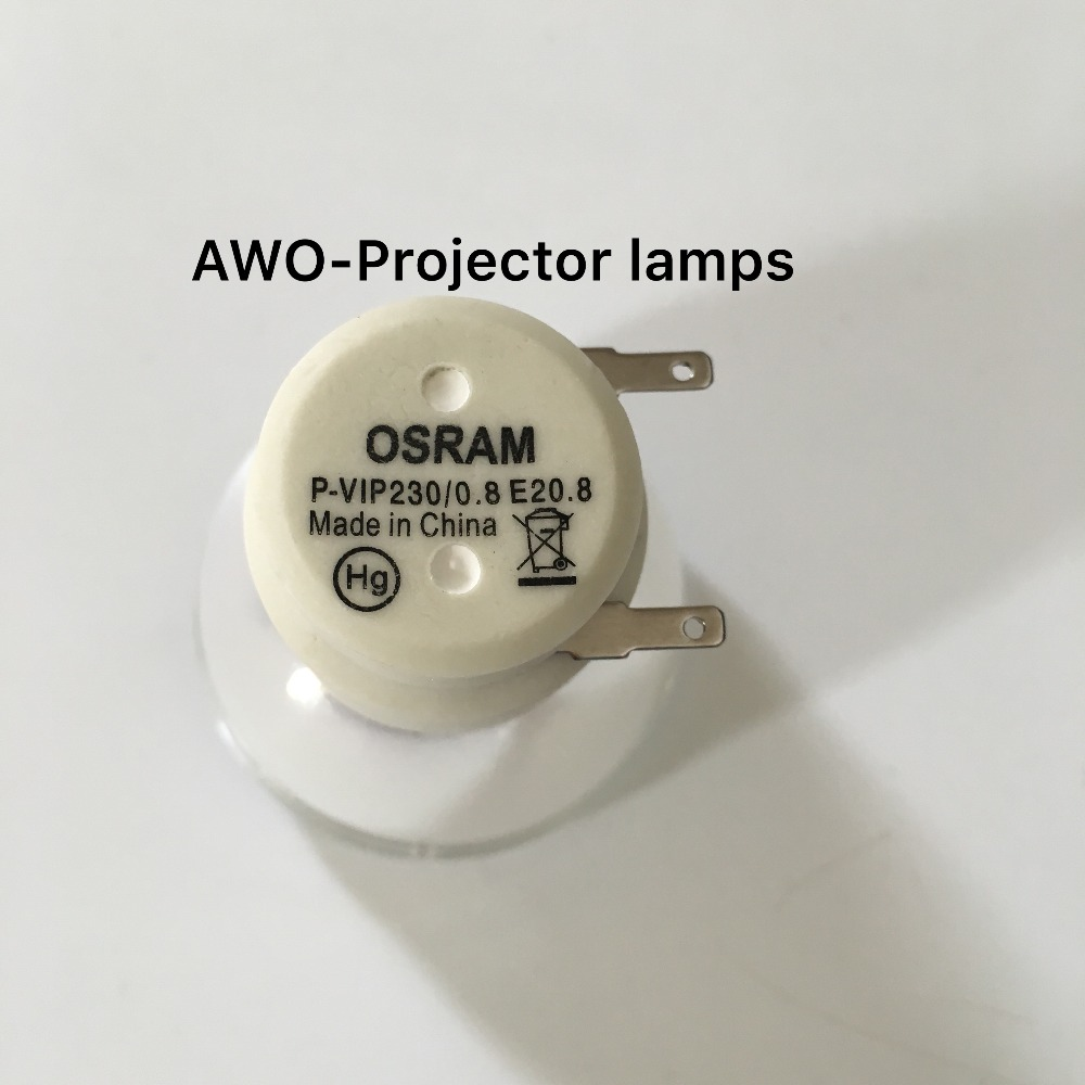 Replacement Projector Bare Lamp Bulb SP.8JQ01GC01 Osram P-VIP230/0.8 E20.8  for OPTOMA DP3501/EX565UT/TW610STi Projector osram p vip 230 0 8 e20 8 projector lamp bulb 230w 100% original