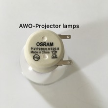 Yedek Projektör Çıplak lamba ampulü SP.8JQ01GC01 Osram P VIP230/0.8 E20.8 OPTOMA DP3501/EX565UT/TW610STi Projektör