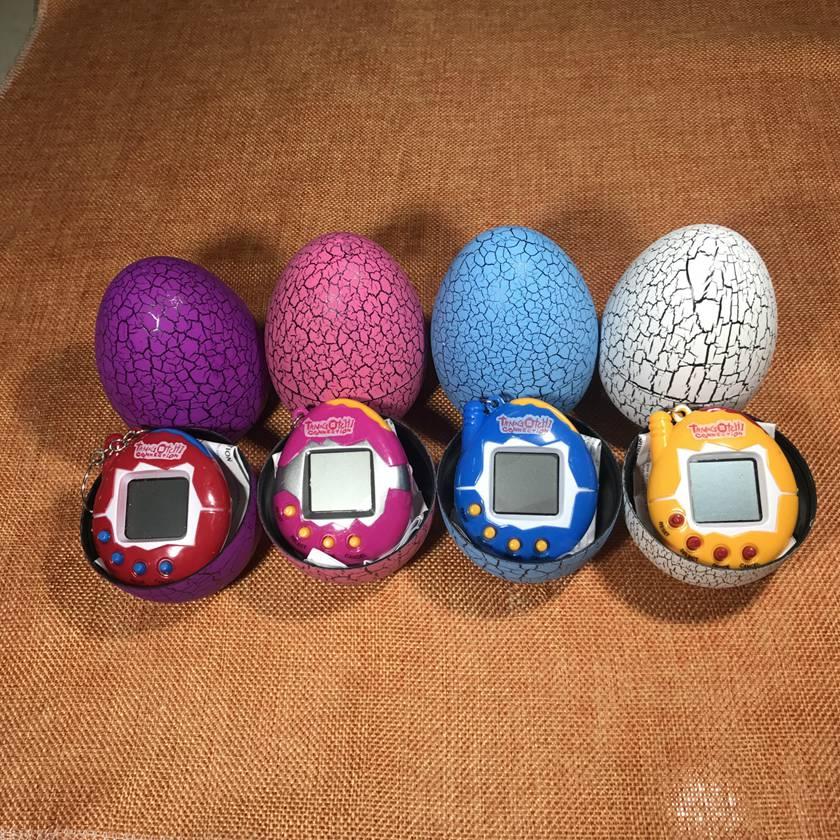 Electronic Virtual Pets Machine E-pet tamagochi Dinosaur Egg Cultivate Game Machine Retr ...