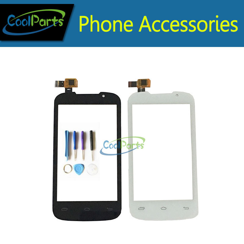 1PC/Lot 4.0For Prestigio MultiPhone PAP 3400 Duo PAP3400 Touch Screen Digitizer Touch Panel Glass With Tool Black White Color