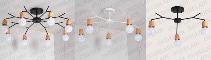 lâmpada do vintage loft luzes de teto