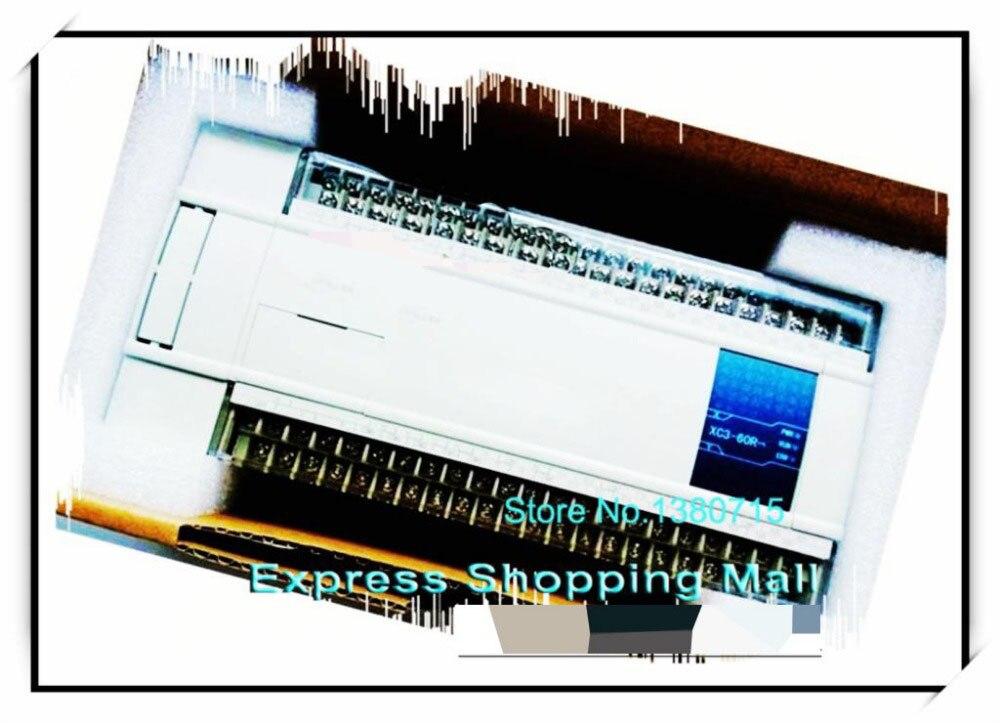 New XC3-60R-C PLC CPU DC24V 36 DI NPN 24 DO Relay 60r