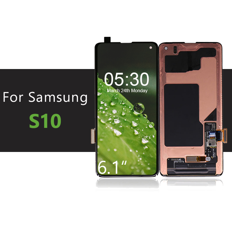 LCD G973-Display Samsung Galaxy S10 Digitizer-Assembly Touch-Screen for with 10pcs/Lot