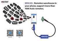 Cheapest Mini KD Remote Key Maker/Generator Warehouse in Your Phone Support Android Device Make More Than 1000 Auto Remotes