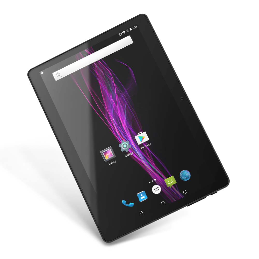 Yuntab 9.6inch K98 Quad Core Google Android 5.1 Tablet PC 1G+16G Dual Camera support Dual SIM Card with 4500mAh Battery