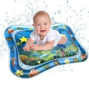 Image 3 - Vendas diretas da fábrica 2019 criativo duplo uso brinquedos do bebê inflável almofada patted almofada de gelo de água do bebê inflável almofada pat
