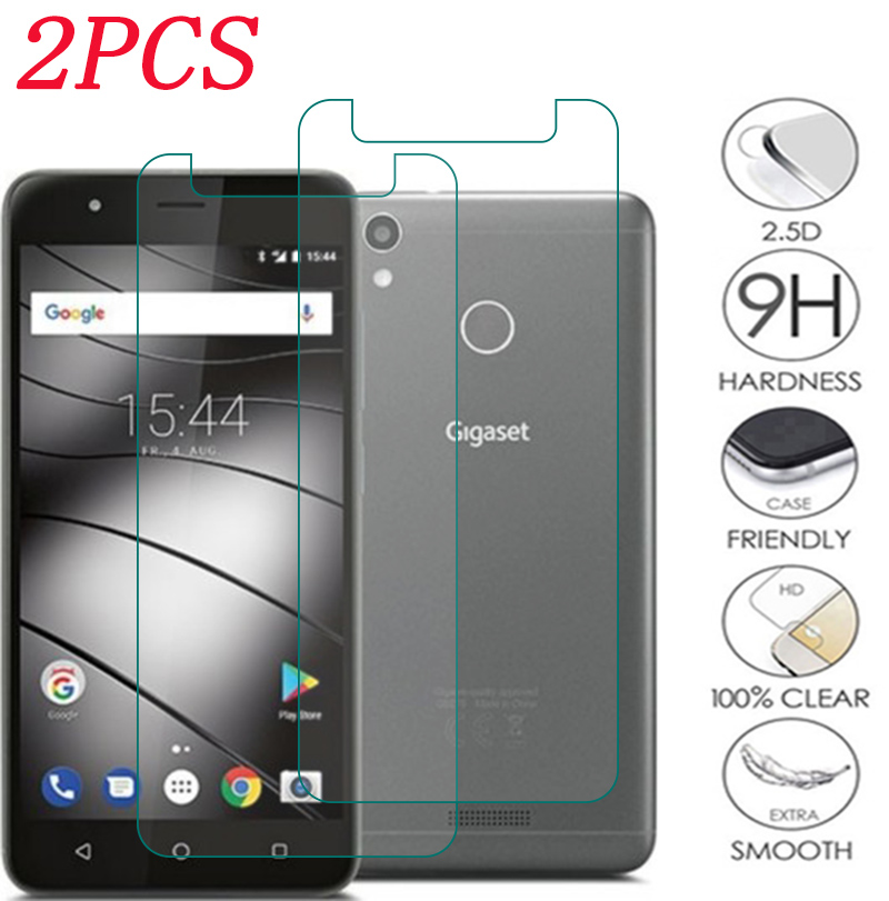 2PCS 9H Tempered Glass For Gigaset GS100 GS185 GS180 GS270 GS370 Plus GS160  Protective Film Screen Protector