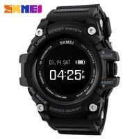 SKMEI 최고 럭셔리 스마트 스포츠 시계 칼로리 심장 박동 보수계 블루투스 디지털 시계 패션 워치 Relogio