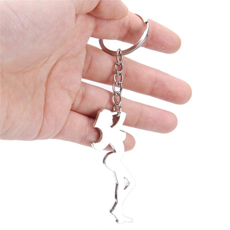 BALLET SHOES Stainless steel keyring keychain Schlüsselanhänger porte-clés