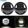 75w 7 Inch Round Projection Daymaker Led Headlight DRL Fit For Jeep Wrangler JK TJ LJ