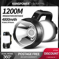 KANG power Camping Tent Light USB наружная лампа для кемпинга портативная Подвесная лампа Светодиодная перезаряжаемая лампа мобильный Банк питания фонар...