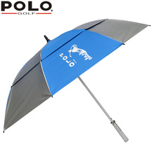 Brand POLO Golf Umbrella Black Blue Pink Silver New Free-Shi