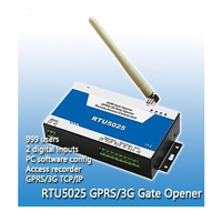 Wireless smart New version 3G RTU5025 GSM Gate Opener,Door opener, cell switch, remote switch