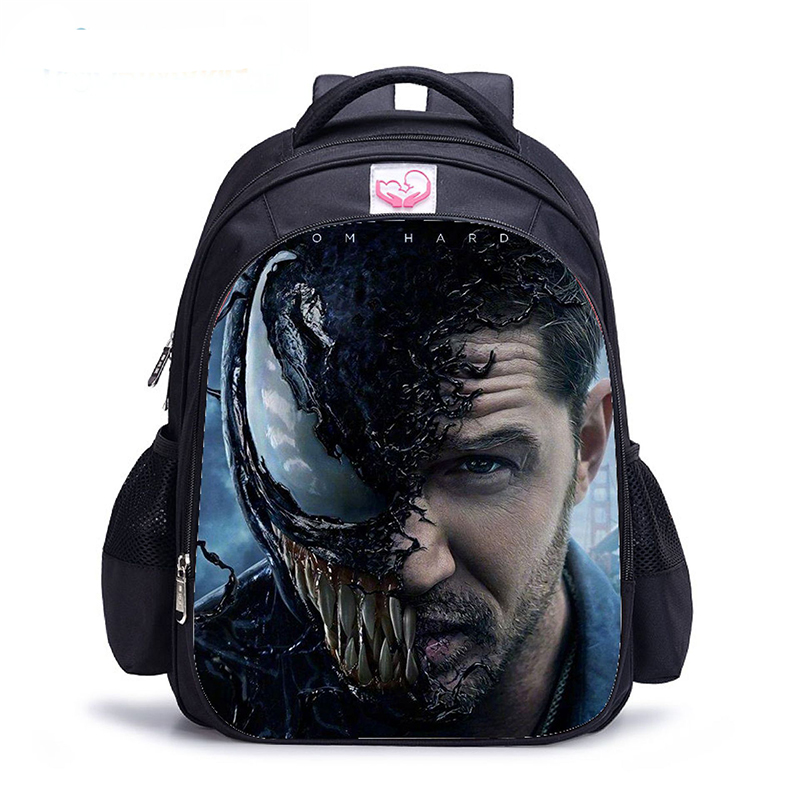 16 Inch Venom Backpack Children School Bags Orthopedic Backpacks Kids School Boys Mochila Infantil Bags