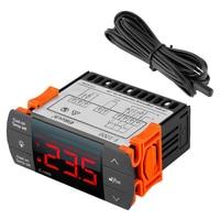 ELitech 220 V Digitale Temperatuurregelaar 10A 220 V Thermostaat Regulator met Sensor-40 ~ 99C Verwarming Koeling Controle