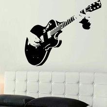 Guitar Music Wall Sticker