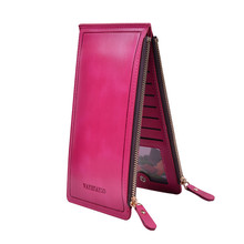 Long Woman Wallet Card Holder Women Purses And Wallets Women's Purse Leather Clutch Female 2016 New Brand Zipper Ladies Carteira