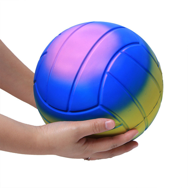 Jumbo Super Giant Soft Volleyball Slow Rising Squeeze Relieve Stress Toy anti stress toy decompression toyStress Relief Toy