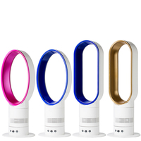 Ultra quiet Bladeless Electric Fan bladeless fan 220V Cooling Fan Remote Control Tower Fan 360 Degree Air Circulation Top Quali