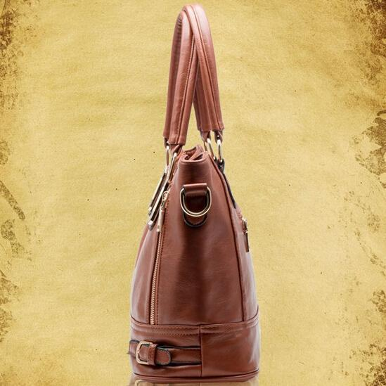 Hot sale 2017 Fashion Designer Brand Women Pu Leather Handbags ladies Shoulder bags tote Bag female Retro Vintage Messenger Bag