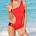 2016 New Designer Women One Piece Swimwear Swinsuit Beachwear Sexy Monokini Plus Size One Piece Bathing Suit Trikini