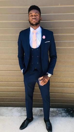 7d0daa5b793b9 2019 Singer Stage Costume Men Suit Slim Fit 3 Pieces Tuxedo Groom Groomsman  Custom Men Suits