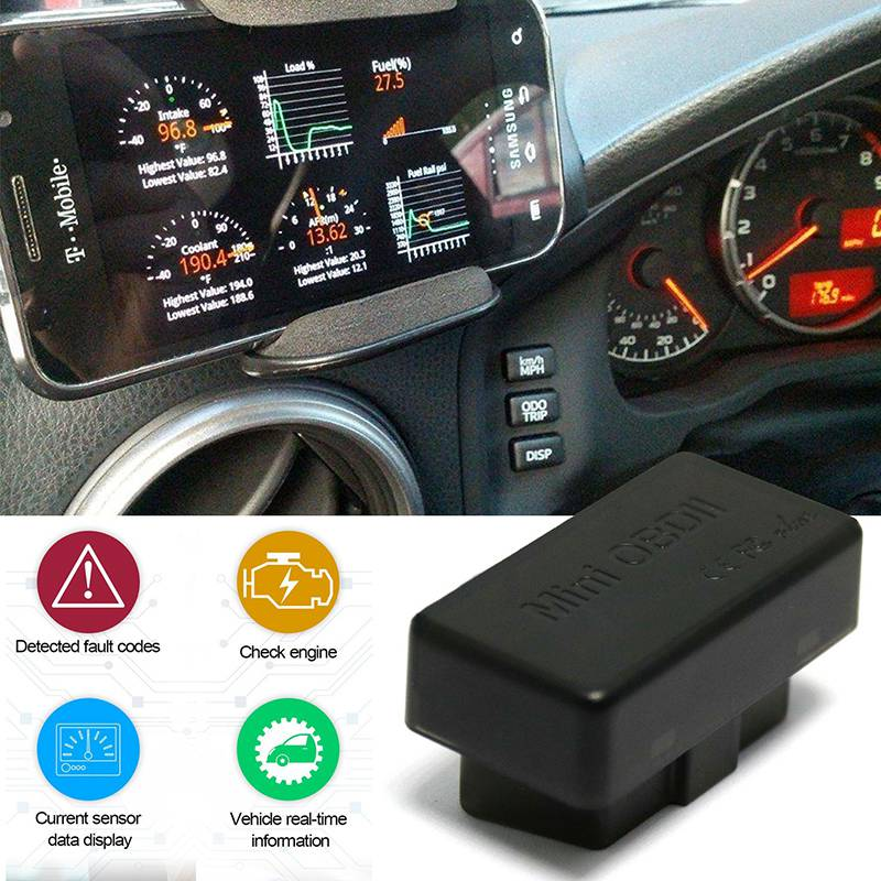 Image 2 - Автомобильный диагностический сканер OBD2 obdii, беспроводной ELM327, Автомобильный сканер кода, сканер Bluetooth 4,0, диагностический инструмент двигателя для IOS Android on AliExpress - 11.11_Double 11_Singles' Day