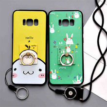 For Samsung Galaxy S8 Case 3D Relief Soft Silicone Protection Cases Cover For Samsung Galaxy S8 Plus Phone Protector Funda Capa