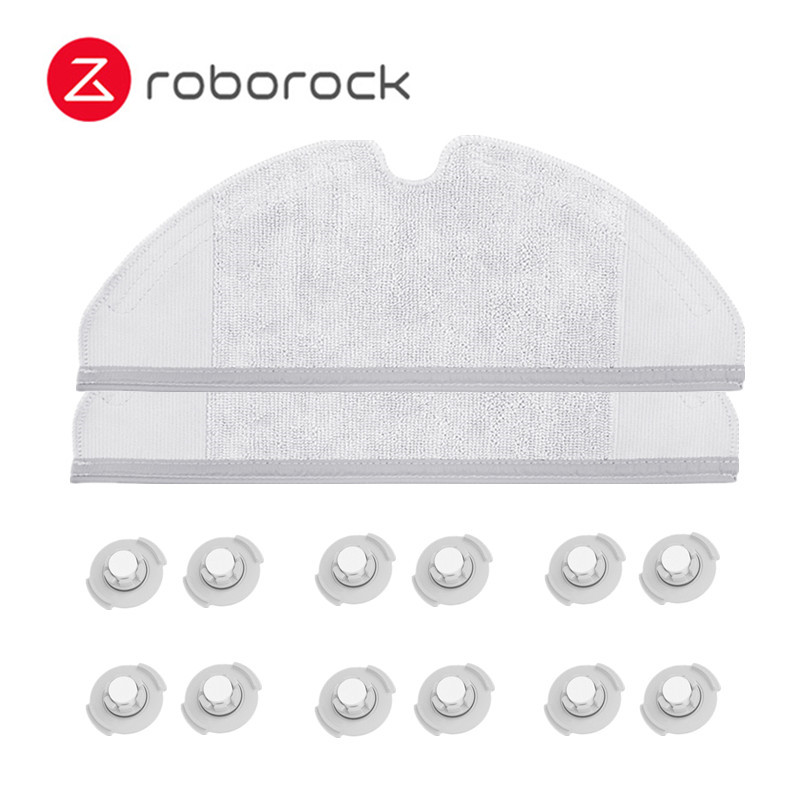 Original Xiaomi Roborock S50 S51 Robot Vacuum Cleaner 2 Spare Parts Kits Mopping Cloth Dry Wet Mopping Water Tank Filter number