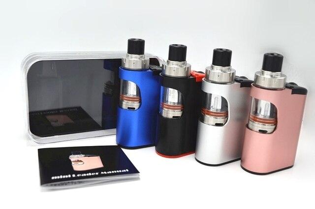Kangvape МИНИ лидер 40-60 Вт 1500 мАч Starter kit Мини Электронной сигареты мод комплект с РБА Распылитель костюм для 0.2 0.5-3.0ohm испаритель
