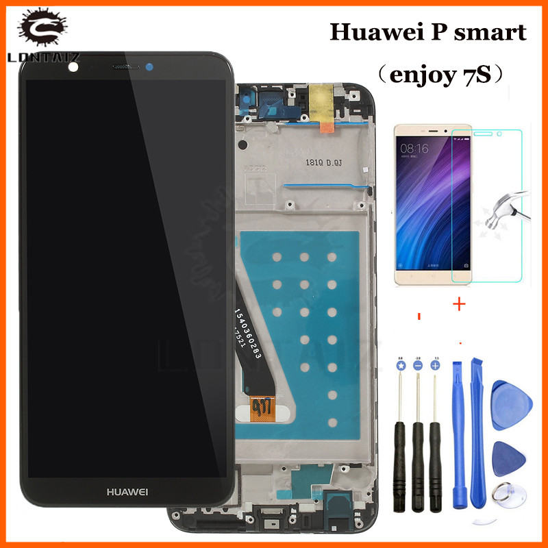 """For 5.65"""" Huawei P Smart LCD Display Touch Screen Digitizer Assembly Replacement FIG-LX1 FIG-L21 L22 For Huawei P Smart LCD"""
