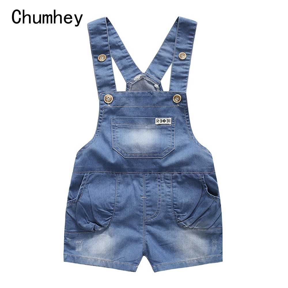 Chumhey 9 M-4 T Cho Bé Rompers Mùa Hè Bé Trai Bé Gái Quần Short Jeans Babe Áo Liền Quần Quần Áo Trẻ Sơ Sinh Trẻ Em Áo Liền Quần Trẻ Em quần Áo 12 M 2 Năm