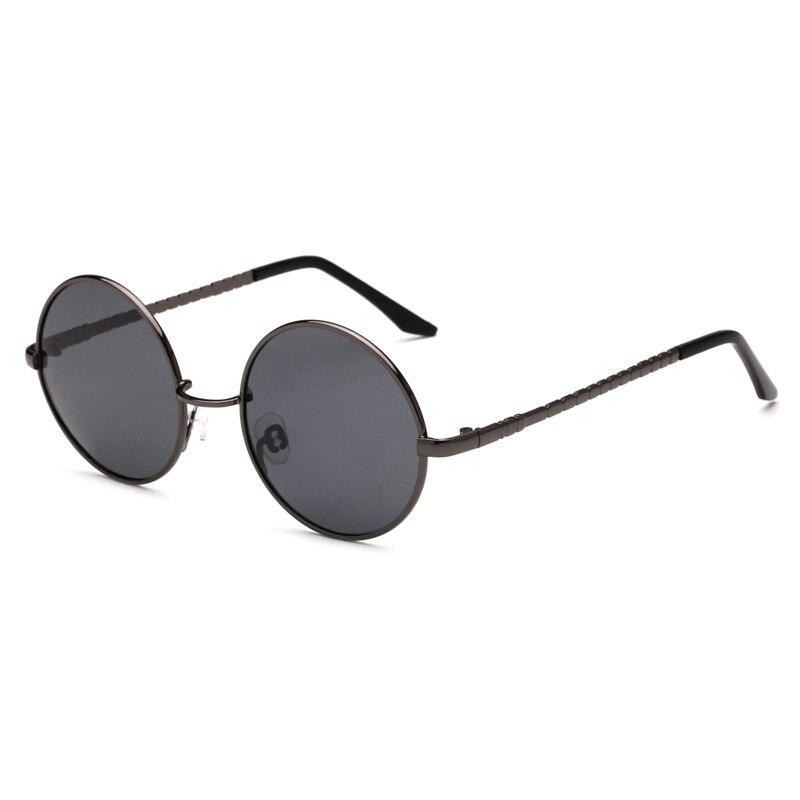 fe79fe96087c fashion sunglass TAC Lens polarized classic Round Sunglasses Women Metal  Frame Sunglass Men Brand Sun Glasses-in Sunglasses from Men's Clothing ...