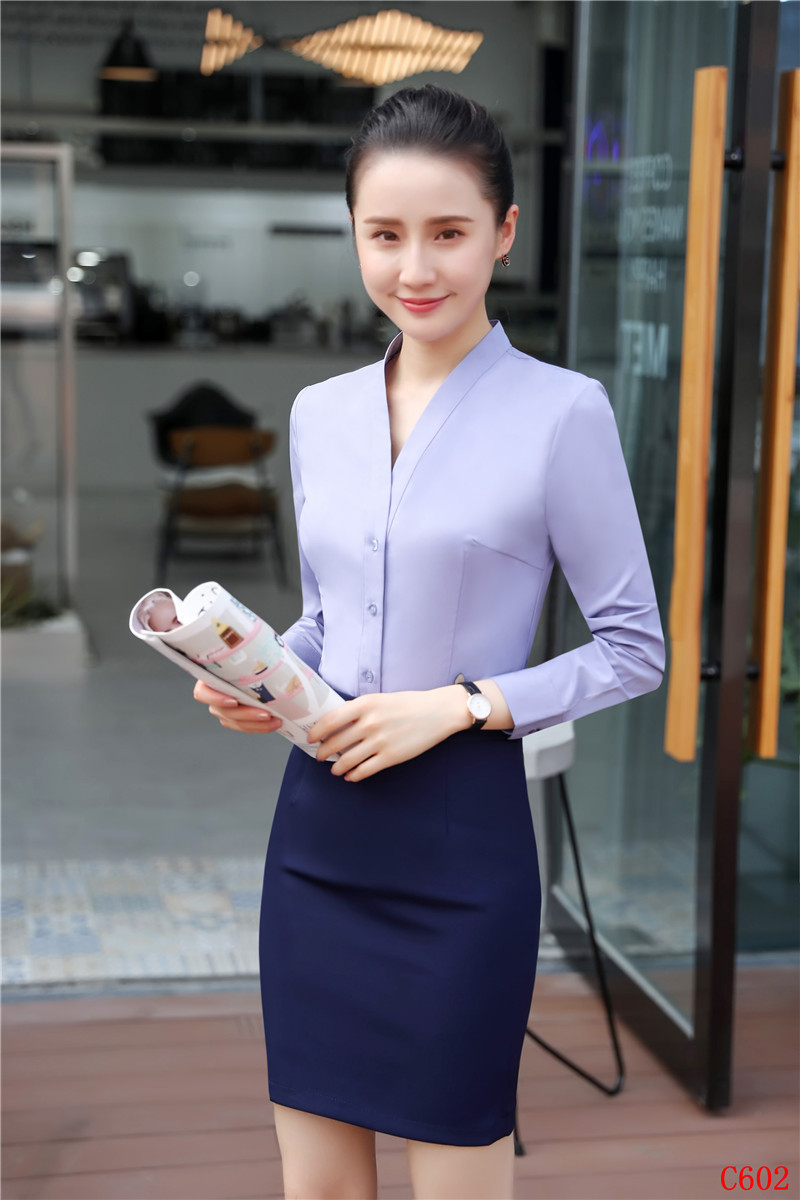 Définit Jupe Chemises Costumes Uniformes Styles Blouses 2 Dames Et Femmes D'affaires De Pièce Bureau amp; Top Élégant q0vIWw