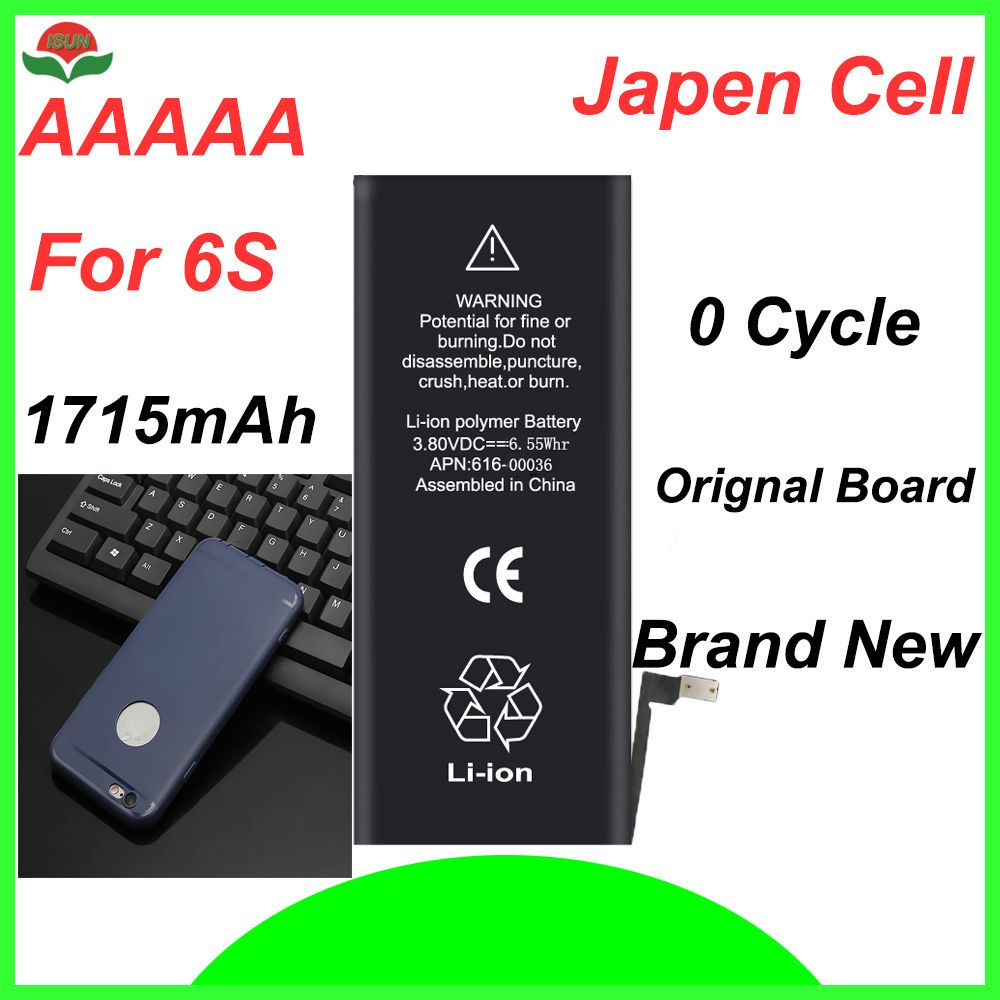 Cycle-Mobile-Battery Phone-Case Battery-Replacement Original-Quality for 6S with Free