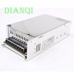 DIANQI 600W 12V 50A przełączanie pojedynczego wyjścia zasilanie 220V lub 110V wejście AC do DC przełączanie zasilania S 600 12 w Zasilacze impulsowe od Majsterkowanie na
