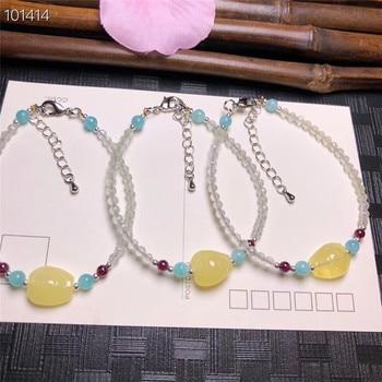 132c37c37963 Diseño de Moda puro natural facetado uva piedra ámbar piedra mujeres moda  pulsera envío gratis