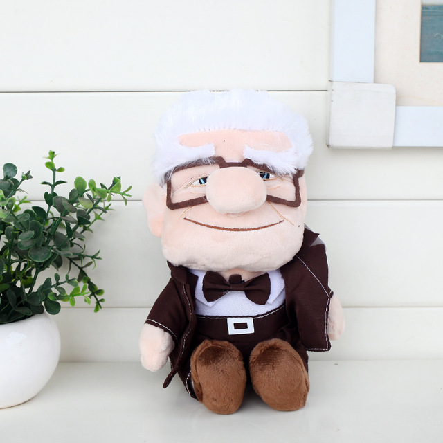20cm Russel Carl Fredrickson Cartoon Movie Up Plush Toy Soft Stuffed Dolls Movie Figure Toys S3151