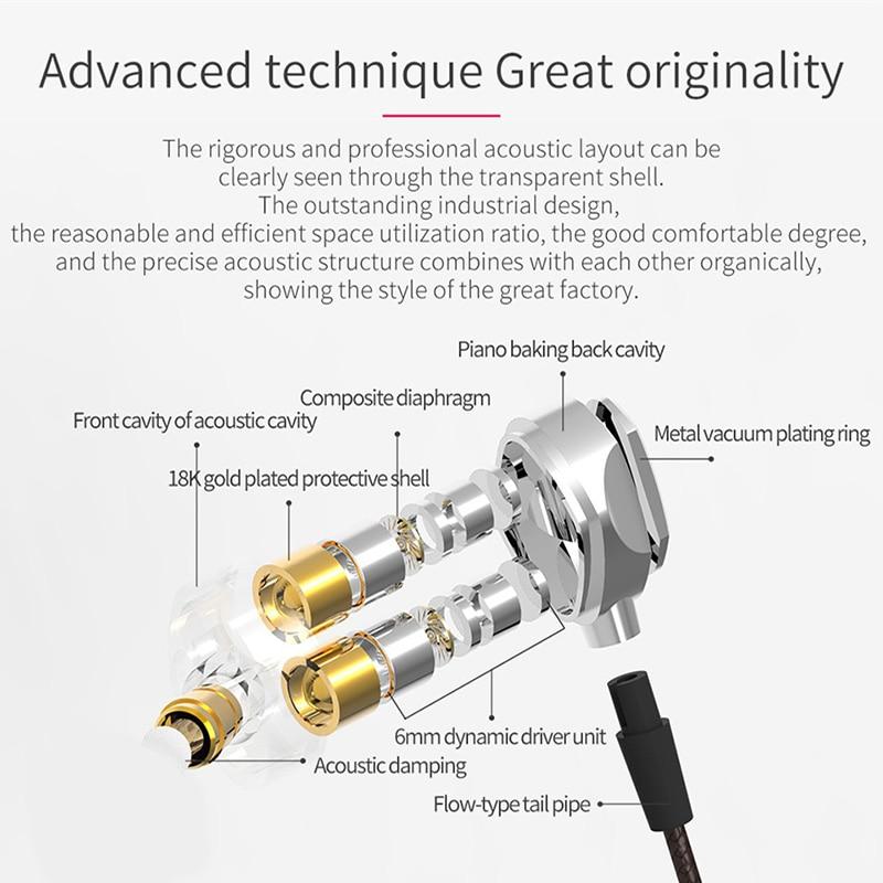 Icoque 3.5mm kõrvaklappide kõrvaklapid HIFI muusika kõrvaklappide - Kaasaskantav audio ja video - Foto 4