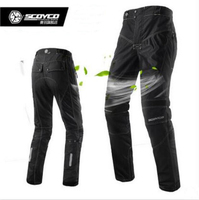 2017 Scoyco P017 2 Motorcycle riding pants Summer Breathable road kinght motocross Mototbike Racing Protective trousers