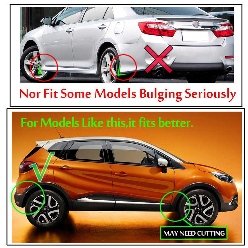 4x مصبوب العالمي سيارة الطين اللوحات SUV Mudflaps سبلاش الحرس واقيات الطين لرينو رمز لاغونا كوليوس الخلابة تعويذة توينجو
