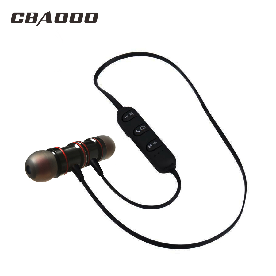 C30 Wireless Bluetooth Earphones Metal Magnetic Sport Running Earbuds Stereo Super Bass Headsets Earbuds With Mic magnetic switch earphones sports running wireless earbuds bass bluetooth headsets in ear with mic for running fitness exercise
