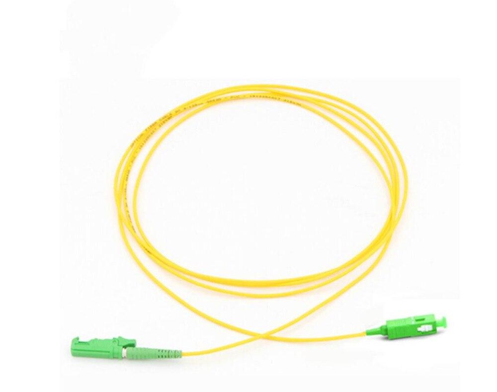 Fiber Patch Cord Jumper Cable E2000/UPC-SC/UPC SM Simplex 1-15m