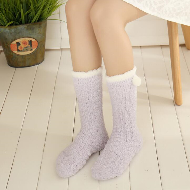 Fuzzy Winter Socks 4