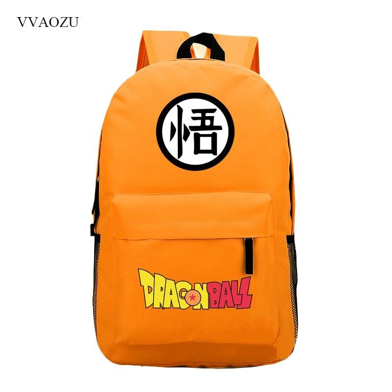 New Fashion Dragonball Son Goku Laptop Bag Dragon Ball Schoolbags Children School Bags for Girls & Boys Backpack Book Bag Gift women casual backpack for teenage girls children school bags bagpack lady laptop backpack student book bag schoolbags pink blue