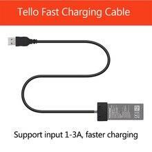 Новейший TELLO зарядный кабель для DJI TELLO USB кабель порт батарея быстрое зарядное устройство кабель Дрон аксессуары