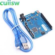 Cuiisw leonardo r3 microcontrolador atmega32u4 placa de desenvolvimento com cabo usb compatível para arduino diy starter kit