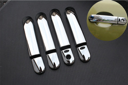 For Nissan Note E11 2005 2006 2007 2008 2009 2010 2011 2012 Chrome Car Door Handle Covers Accessories Trim Car Styling Overlay