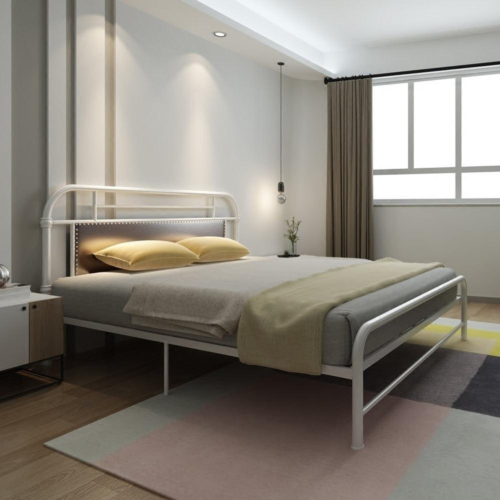 Ehrlichkeit Betten Hause Möbel Eisen Bett Einzel-/doppelbett Großhandel Multi Größe 1,5*1,9 Cm/1,2*1,9 Cm/1,8*2 Cm Heiße Neue Können Anpassen 2019 Möbel
