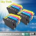 Di alta qualità Cartuccia di Inchiostro Compatibile Per 34XL T3471-T3474, Per Epson Forza Lavoro Pro WF-3720DWF/3725DWF.